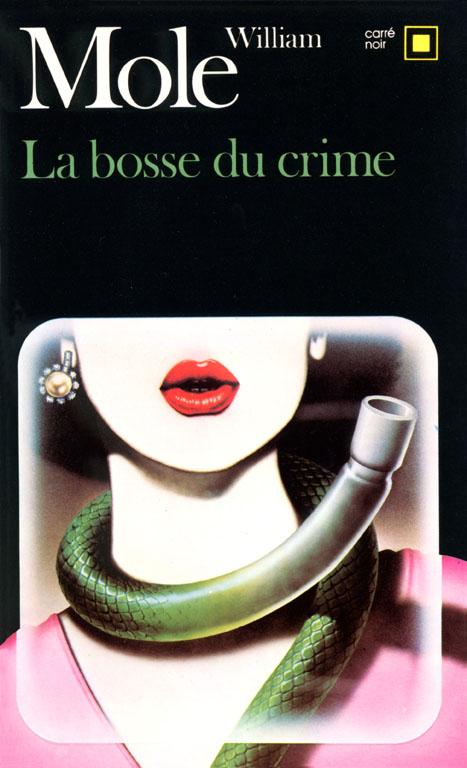 Tirage de l'illustration de couverture de Richard Martens pour « La Bosse du crime ».