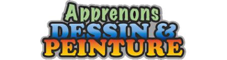 "Logo ""Apprenons DESSIN & PEINTURE"" par Richard Martens"