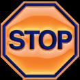 """Pictogramme """"Stop"""" par Richard Martens."""