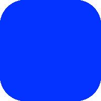 Un aplat, ou à-plat, bleu.