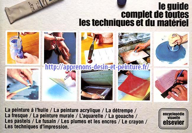 """Détail de la couverture du livre de Colin HAYES, """"Peindre et dessiner"""", éditions Elsevier."""