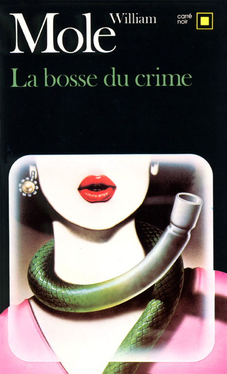 Tirage de l'illustration de couverture de Richard Martens pour « La Bosse du crime ».